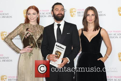 Eleanor Tomlinson, Aidan Turner and Heida Reed 6