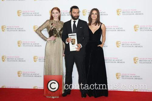 Eleanor Tomlinson, Aidan Turner and Heida Reed 7