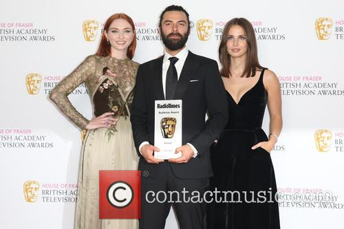 Eleanor Tomlinson, Aidan Turner and Heida Reed 9