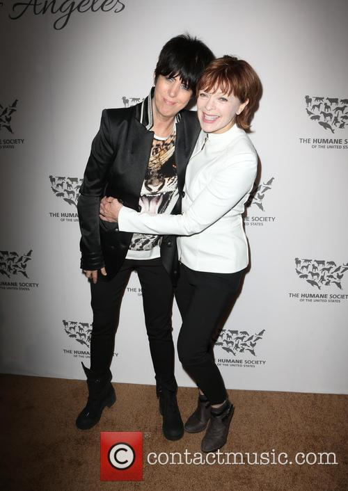 Diane Warren and Frances Fisher 2