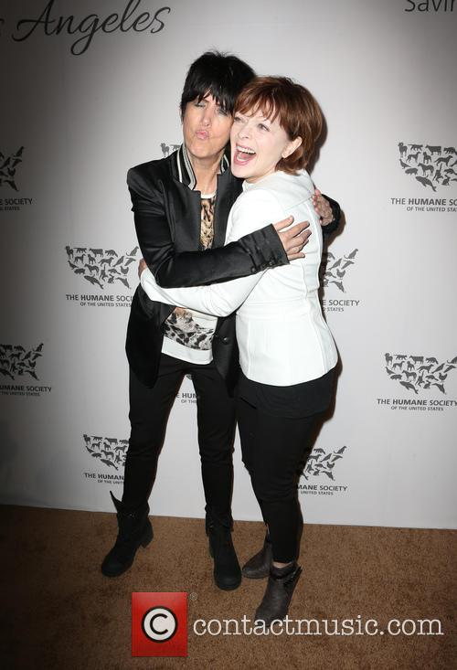 Diane Warren and Frances Fisher 3