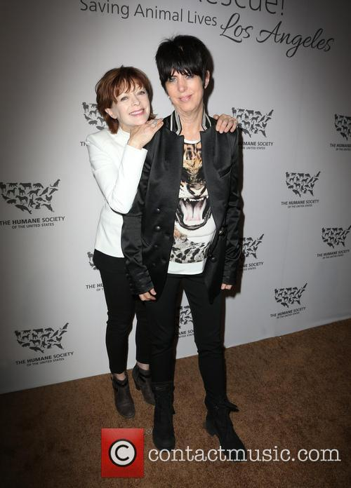Diane Warren and Frances Fisher 4