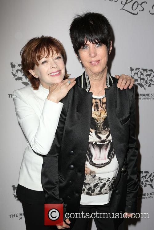 Diane Warren and Frances Fisher 6