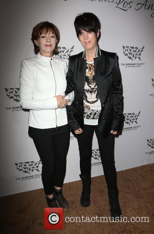 Diane Warren and Frances Fisher 7