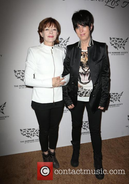 Diane Warren and Frances Fisher 8