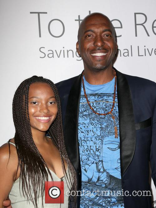 John Salley and Tyla Salley 2