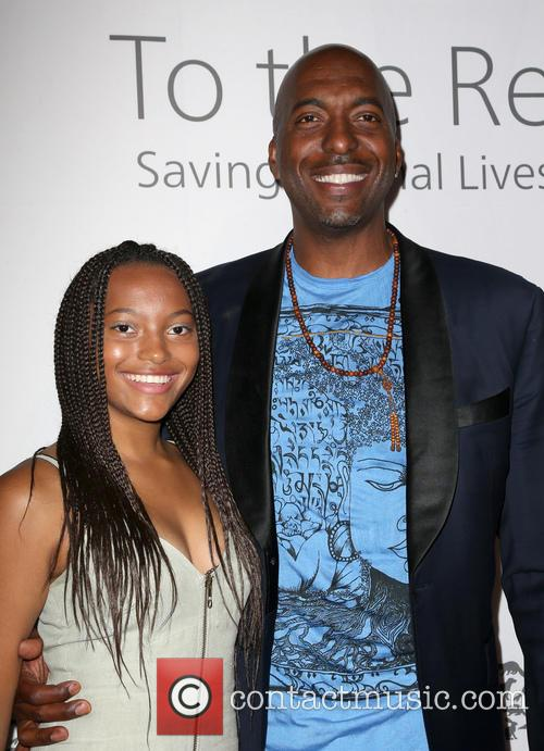 John Salley and Tyla Salley 3