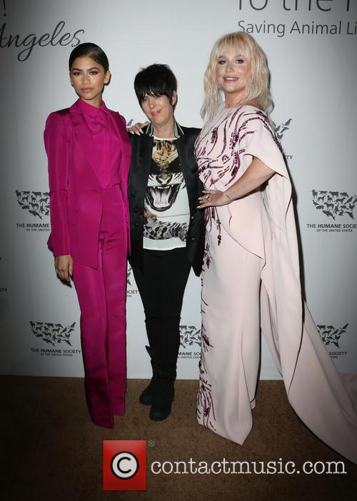 Zendaya, Diane Warren and Kesha 8