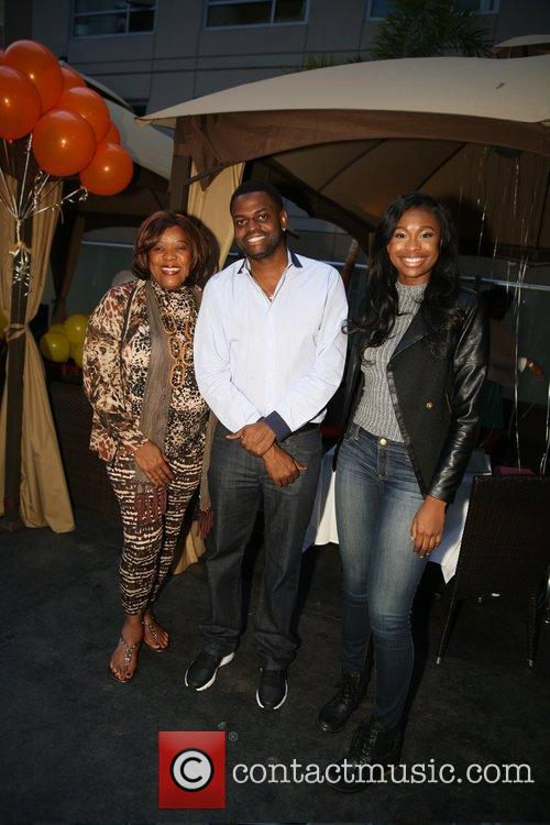 Loretta Devine, Coco Jones and Manny Halley 2