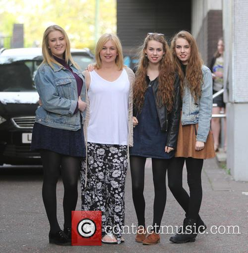 Helen Garnett, Abi Garnett, Anna Garnett and Rachel Garnett 1