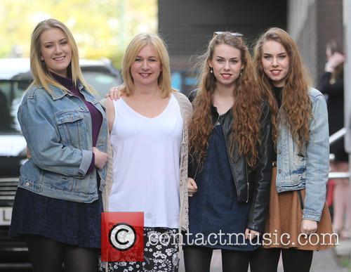 Helen Garnett, Abi Garnett, Anna Garnett and Rachel Garnett 2
