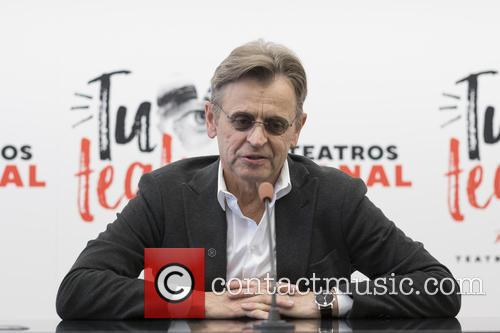 Mikhail Baryshnikov at a press conference