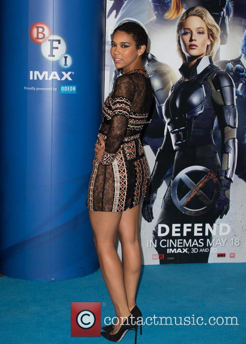 X-men and Alexandra Shipp 1