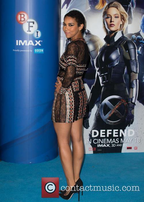X-men and Alexandra Shipp 2