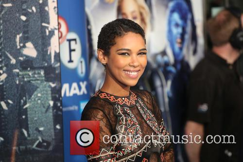 X Men and Alexandra Shipp 11