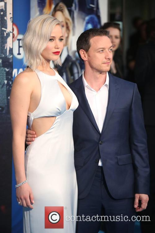 Jennifer Lawrence and James Mcavoy 7