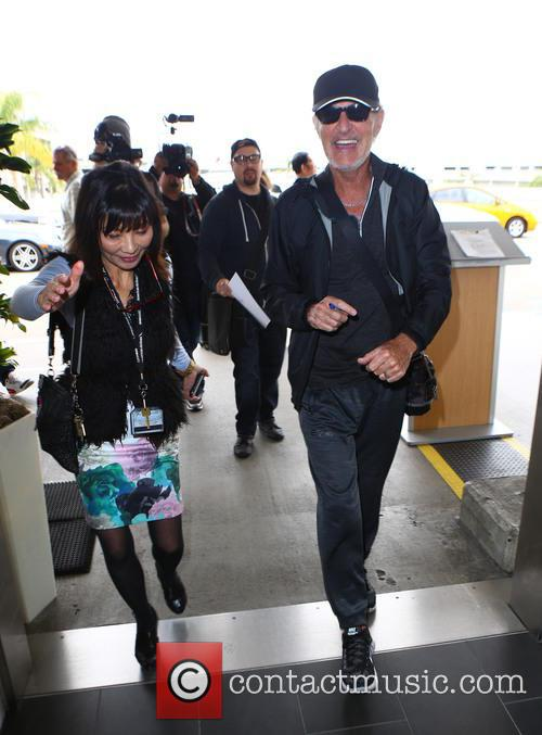 Kevin Cronin at Los Angeles International Airport