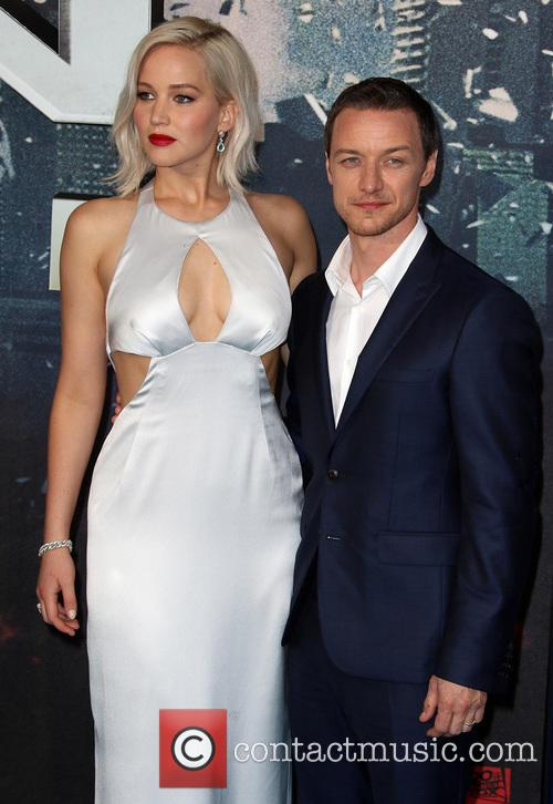 Jennifer Lawrence and James Mcavoy 2