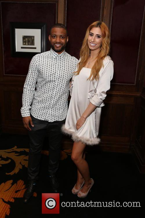 Jb Gill and Stacey Solomon 2