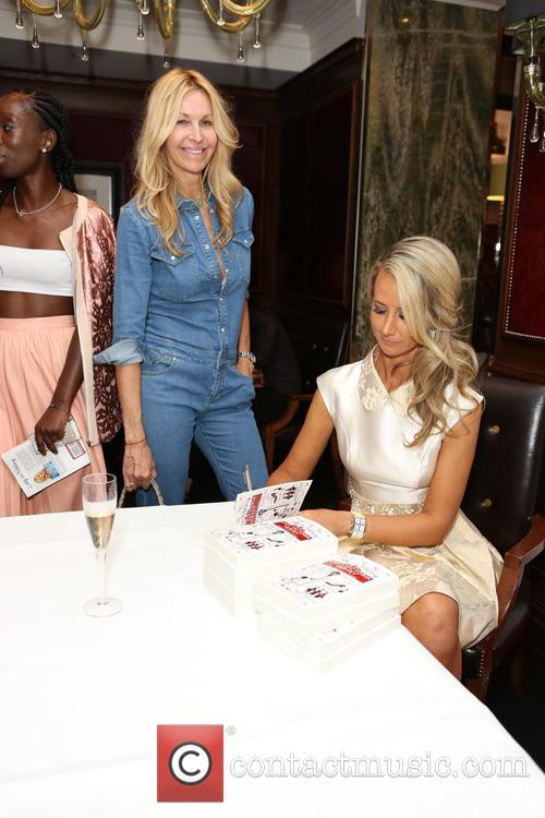 Melissa Odabash and Lady Victoria Hervey 1
