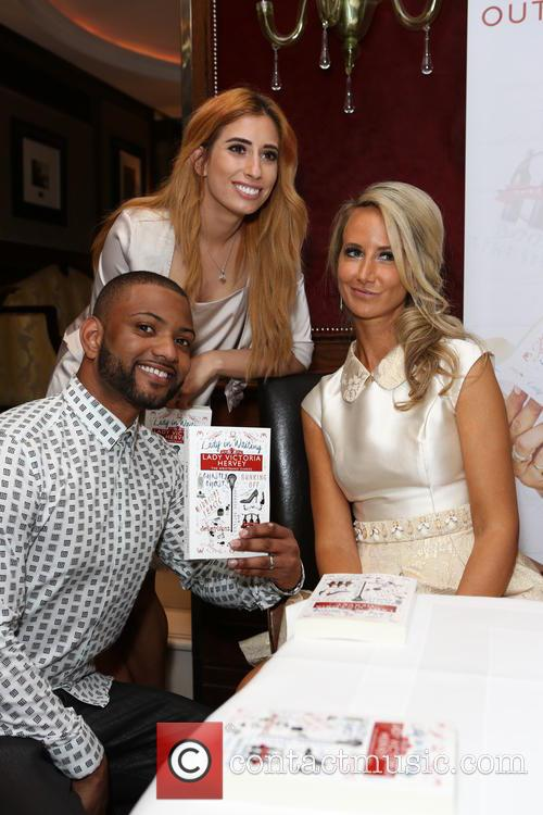 Jb Gill, Stacey Solomon and Lady Victoria Hervey 3