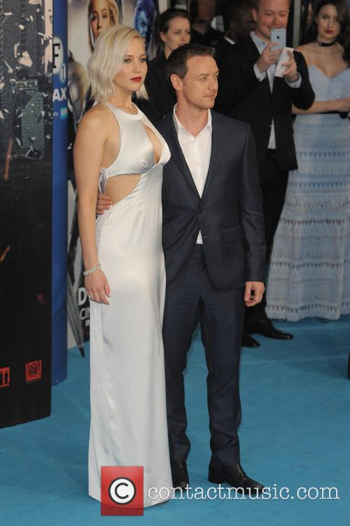 Jennifer Lawrence and James Mcavoy 10