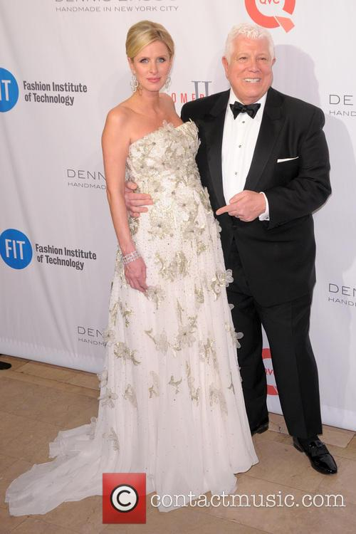 Nicky Hilton and Dennis Basso