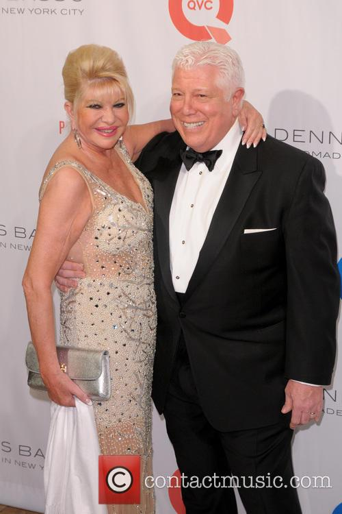 Ivana Trump and Dennis Basso