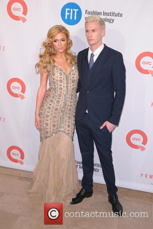 Paris Hilton and Barron Hilton 6