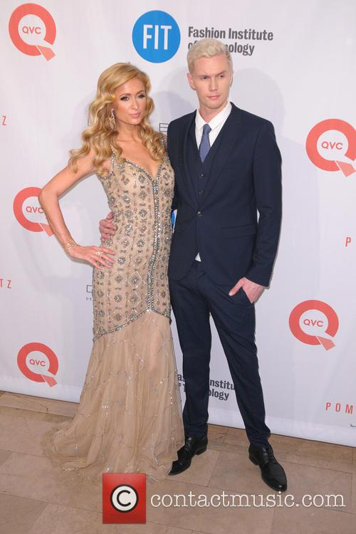 Paris Hilton and Barron Hilton 7