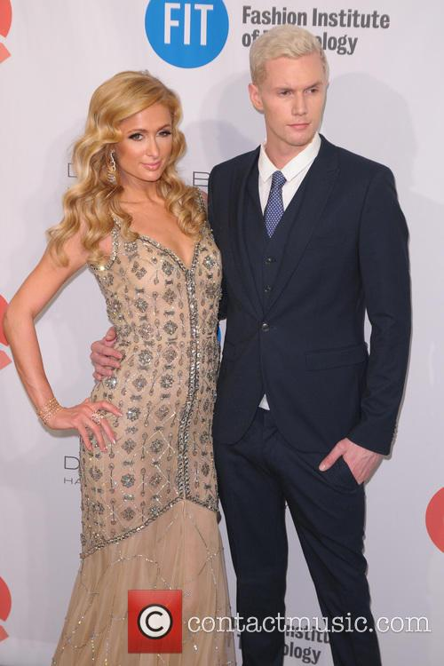 Paris Hilton and Barron Hilton 8