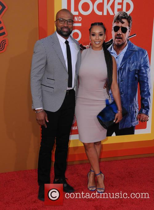 Derek Fisher and Gloria Govan 1