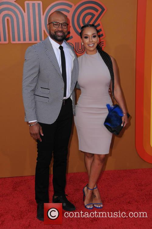 Derek Fisher and Gloria Govan 2