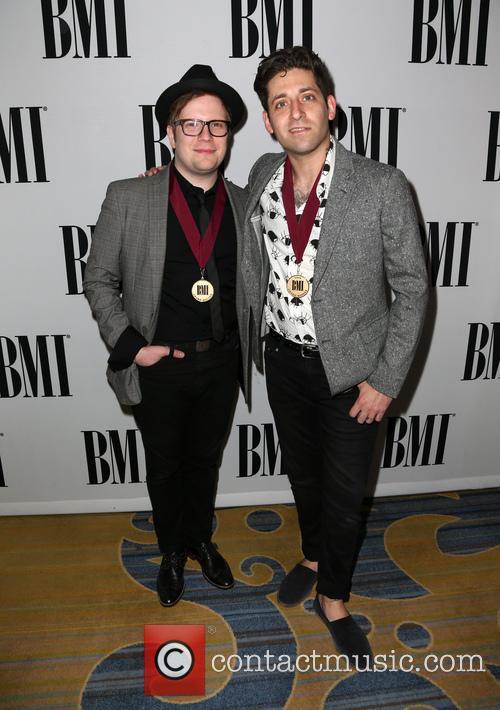 Patrick Stump and Joe Trohman Of Fall Out Boy 2