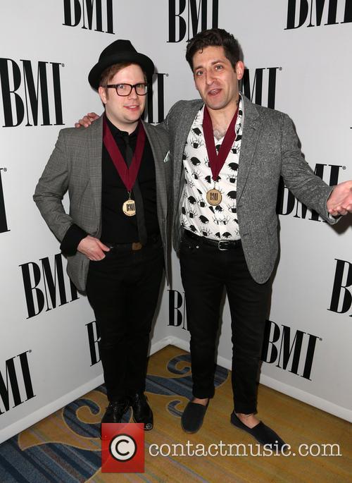 Patrick Stump and Joe Trohman Of Fall Out Boy 4