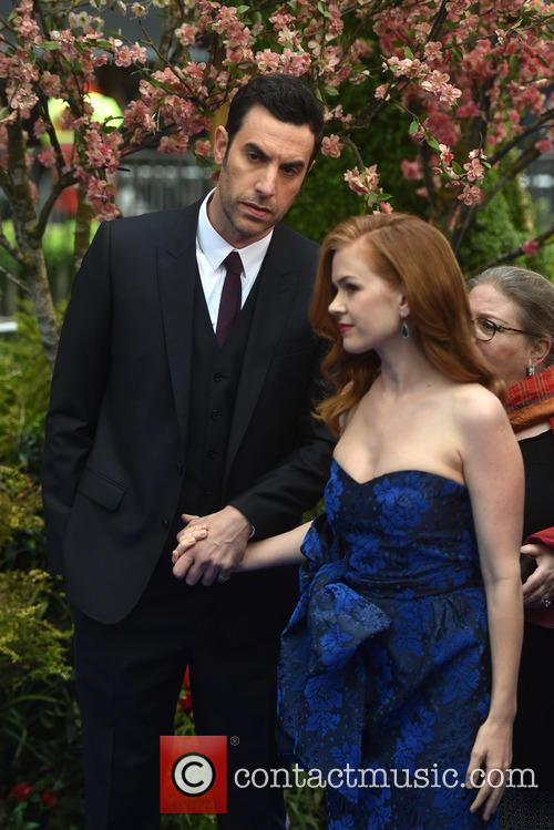 Sacha Baron Cohen and Isla Fisher 1