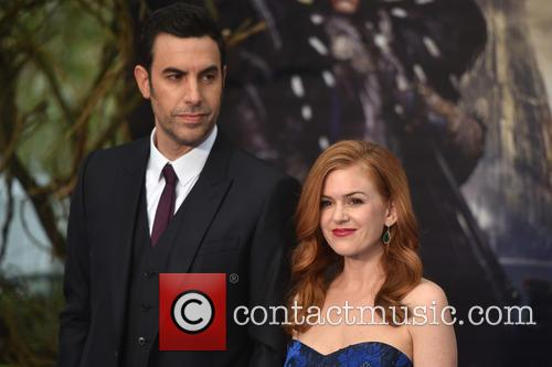 Sacha Baron Cohen and Isla Fisher 6