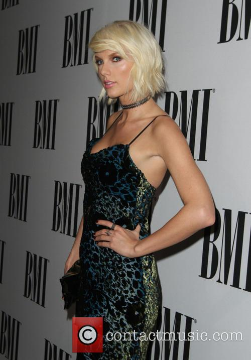 Taylor Swift at the BMI Pop Awards
