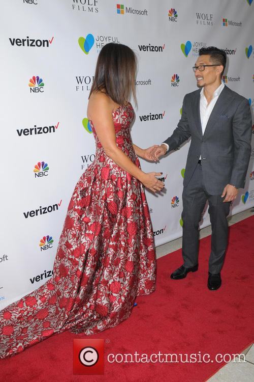 Mariska Hargitay and Daniel Dae Kim