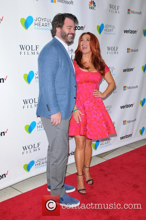 Shawn Sanford and Poppy Montgomery 1