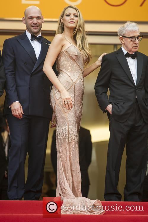 Corey Stoll, Blake Lively and Woody Allen 1
