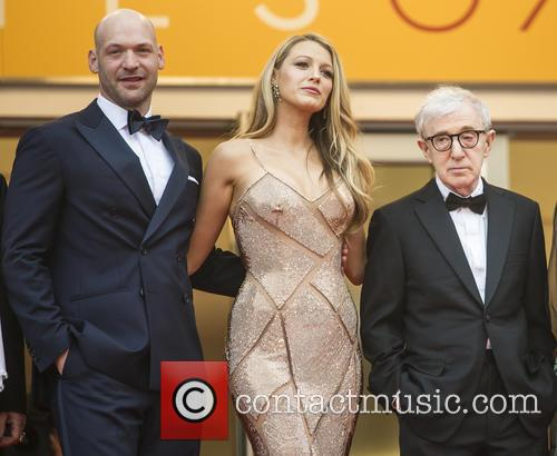 Corey Stoll, Blake Lively and Woody Allen 2