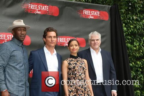 Mahershala Ali, Matthew Mcconaughey, Gugu Mbatha-raw and Gary Ross 1