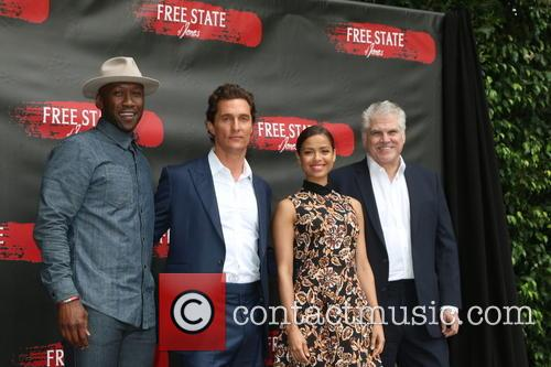 Mahershala Ali, Matthew Mcconaughey, Gugu Mbatha-raw and Gary Ross 2
