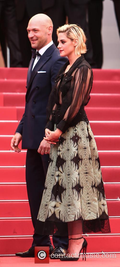 Corey Stoll and Kristen Stewart