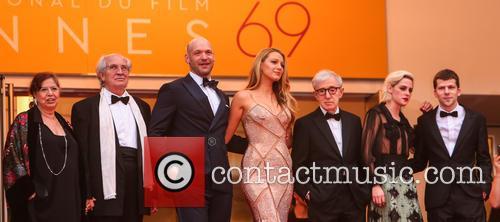 Corey Stoll, Blake Lively, Woody Allen, Kristen Stewart and Jesse Eisenberg 4