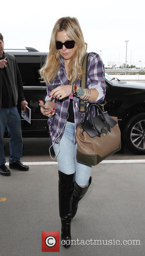 Kate Hudson at Los Angeles International Airport