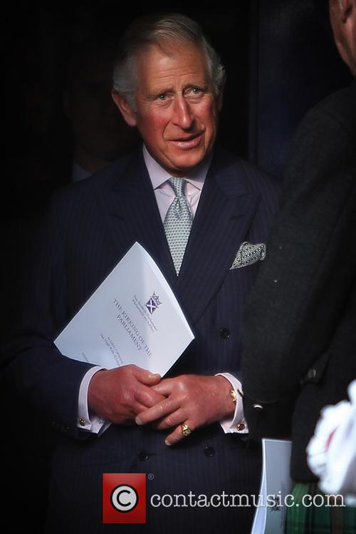The Prince of Wales attends Kirking of the...