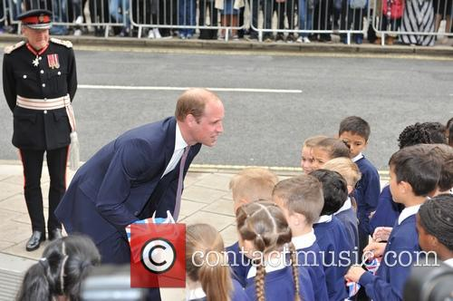 Duke of Cambridge visits Weston Library