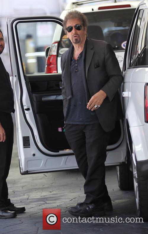 Al Pacino seen going out for lunch